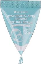 Peeling na tvár s kyselinou hyalurónovou - Mizon Hyaluronic Sherbet Peeling Scrub — Obrázky N3