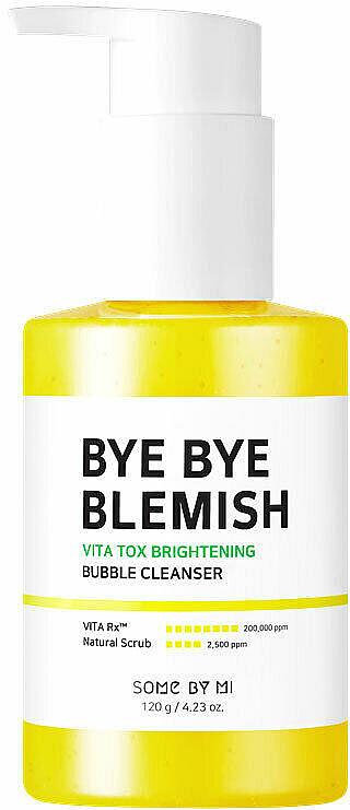 Rozjasňujúca čistiaca pena pre žiarivosť pleti - Some By Mi Bye Bye Blemish Vita Tox Brightening Bubble Cleanser