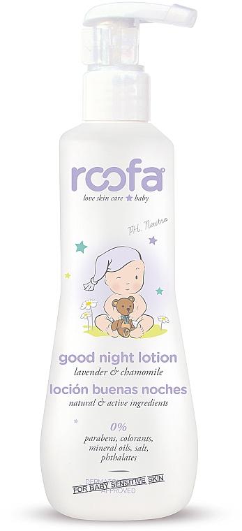 Večerný lotion na telo - Roofa Good Night Lotion