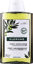 Voňavky, Parfémy, kozmetika Šampón - Klorane Vitality Age-Weakened Organic Olive Hair Shampoo