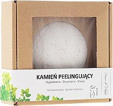Voňavky, Parfémy, kozmetika Prírodný kameň na peeling na tvár, biely - Pierre de Plaisir Natural Scrubbing Stone Body