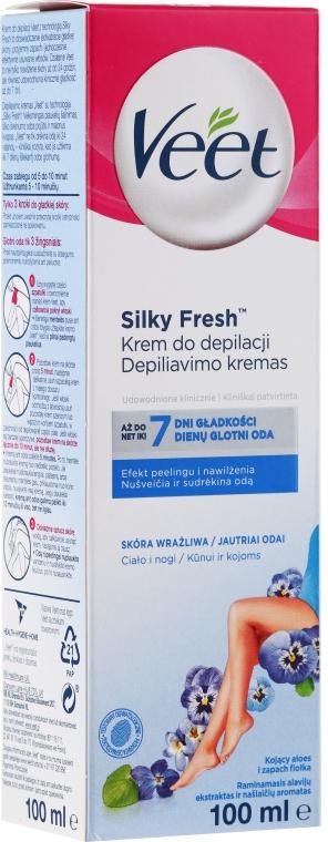 Krém pre depiláciu pre citlivú pleť - Veet