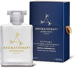 Voňavky, Parfémy, kozmetika Olej do kúpeľa a sprchy s levanduľou a mätou - Aromatherapy Associates Support Lavender & Peppermint Bath & Shower Oil