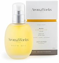 Voňavky, Parfémy, kozmetika Olej do kúpeľa - AromaWorks Serenity Bath Oil