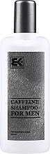 Voňavky, Parfémy, kozmetika Pánsky šampón s kofeínom - Brazil Keratin Caffeine Shampoo For Man