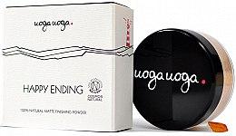 Voňavky, Parfémy, kozmetika Zmatňujúci púder na tvár - Uoga Uoga Happy Ending Finishing Powder