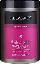 Voňavky, Parfémy, kozmetika Tónovací zosvetľovací púder - Allwaves Flash Maches Bleaching Colouring Powder