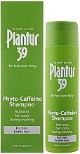 Voňavky, Parfémy, kozmetika Šampón proti vypadávaniu vlasov pre tenké, krehké vlasy - Plantur 39 Coffein Shampoo