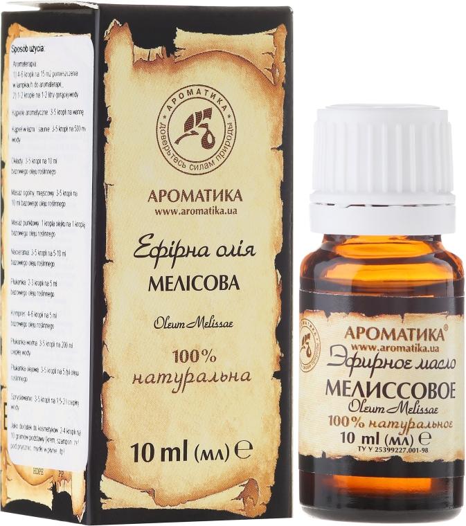 "Esenciálny olej ""Melissa"" - Aromatika — Obrázky N1"