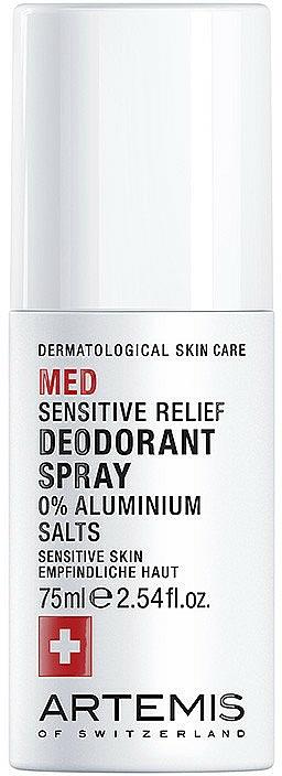 Dezodorant v spreji - Artemis of Switzerland Med Sensitive Deodorant Spray — Obrázky N1