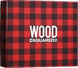 Voňavky, Parfémy, kozmetika Dsquared2 Wood Pour Homme - Sada (edt/50ml + sh/gel/50ml + after shave/balm/50ml)