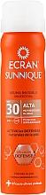 Voňavky, Parfémy, kozmetika Neviditeľný ochranný sprej - Ecran Sunnique Spray Protection SPF30