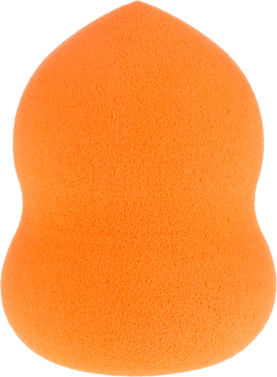 "Špongia na líčenie ""Snowman"" 35869, oranžová - Top Choice Foundation Sponge — Obrázky N1"
