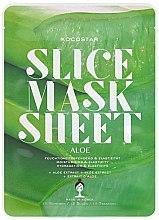"""Voňavky, Parfémy, kozmetika Plátková maska na tvár """"Aloe Vera"""" - Kocostar Slice Mask Sheet Aloe"""