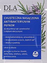 Voňavky, Parfémy, kozmetika Čistiace utierky s antibakteriálnymi vlastnosťami - DLA