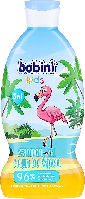 """Šampón-gél a pena do kúpeľa """"Malina"""" - Bobini"""