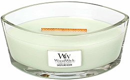 Voňavky, Parfémy, kozmetika Vonná sviečka v pohári - WoodWick Hearthwick Flame Ellipse Candle Sweet Lime Gelato