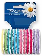 Voňavky, Parfémy, kozmetika Gumička do vlasov 12 ks, viacfarebný - Top Choice 22234