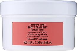 Voňavky, Parfémy, kozmetika Anticelulitídny telový masážny krém s escínom - Comfort Zone Body Strategist Massage Cream