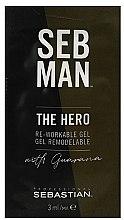 Voňavky, Parfémy, kozmetika Univerzálny gél na úpravu vlasov - Sebastian Professional Seb Man The Hero (mini)