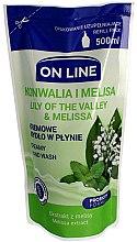 Voňavky, Parfémy, kozmetika Tekuté mydlo - On Line Lilly of The Valley & Melissa Creamy Hand Wash (vymeniteľná jednotka)