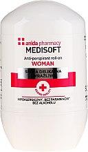 Voňavky, Parfémy, kozmetika antiperspirant - Anida Pharmacy Medisoft Woman Deo Roll-On