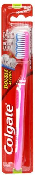Zubná kefka, ružová - Colgate Double Action Medium — Obrázky N1