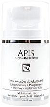 Voňavky, Parfémy, kozmetika Zmes kyselín na peeling - APIS Professional Lacticion + Pirogron + Milk + Azelaine 40%