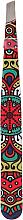 Voňavky, Parfémy, kozmetika Pinzeta na obočie Etno, 76008, vzor červený s modrým - Top Choice