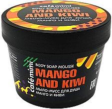 "Voňavky, Parfémy, kozmetika Mydlová pena do sprchy ""Mango a Kiwi"" - Cafe Mimi Body Soap Mousse Mango And Kiwi"