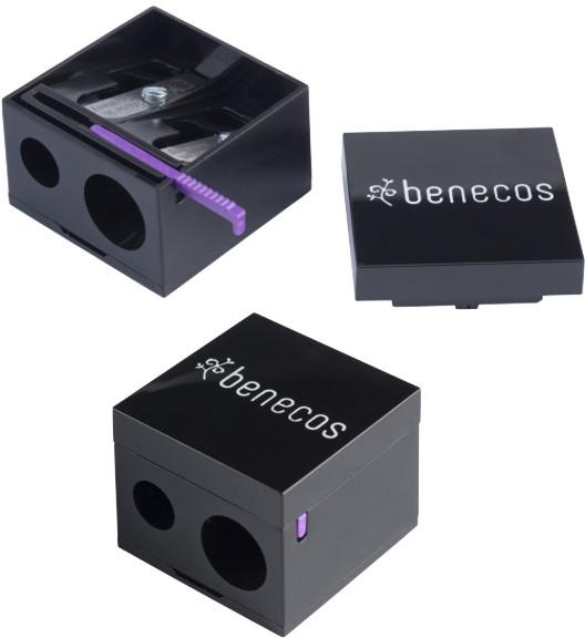 Dvojitý orezávač - Benecos Cosmetic Pencil Sharpener — Obrázky N2