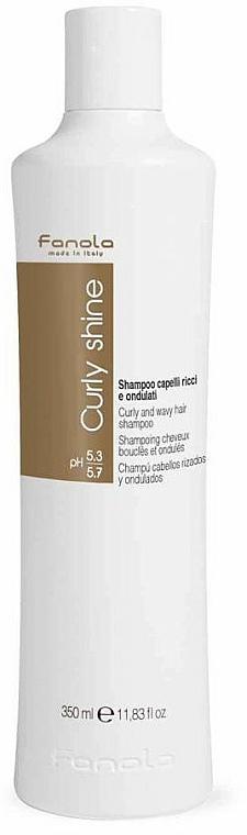 Šampón na kučeravé vlasy - Fanola Curly Shine Shampoo