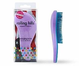 Voňavky, Parfémy, kozmetika Kefa na vlasy, svetlofialová - Rolling Hills Detangling Brush Travel Size Light Purple