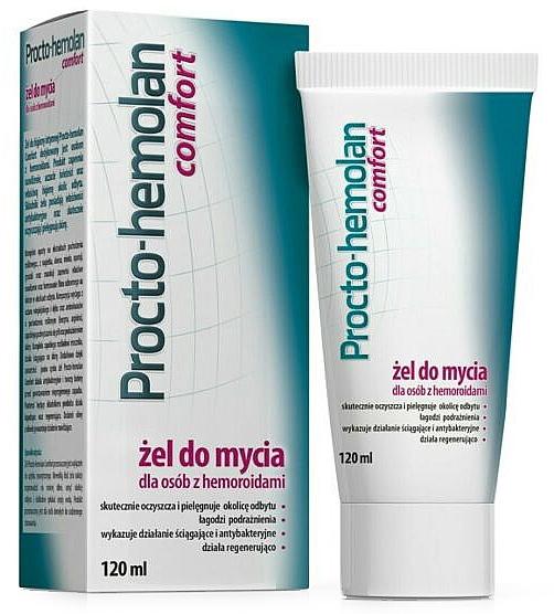 Čistiaci gél na hemoroidy - Aflofarm Procto-Hemolan Comfort Cleaning Gel