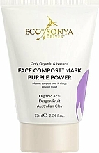 Voňavky, Parfémy, kozmetika Pleťová maska - Eco by Sonya Face Compost Mask Purple Power