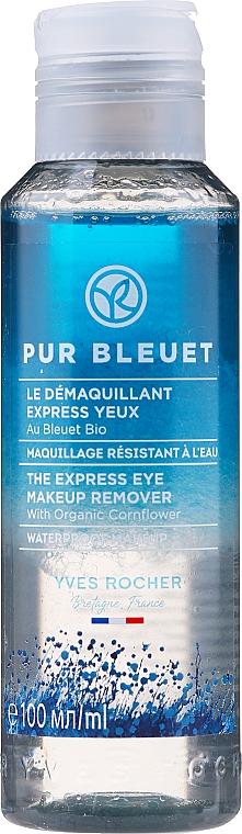 Expresný odličovač očného makeupu s nevädzou - Yves Rocher Pur Bleuet The Express Eye Make Up Remover