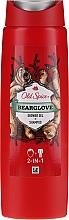 Voňavky, Parfémy, kozmetika Šampónový sprchový gél 2v1 - Old Spice Bearglove Shower Gel + Shampoo