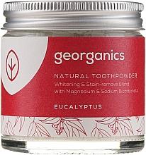 Voňavky, Parfémy, kozmetika Prírodný zubný prášok - Georganics Eucalyptus Natural Toothpowder
