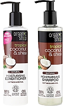 Voňavky, Parfémy, kozmetika Sada na starostlivosť o vlasy - Organic Shop (h/shm/280ml + h/cond/280ml)