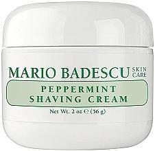 Voňavky, Parfémy, kozmetika Krém na holenie s mätou - Mario Badescu Peppermint Shaving Cream