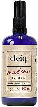 Voňavky, Parfémy, kozmetika Hydrolát z maliny na tvár, telo a vlasy - Oleiq Hydrolat Raspberry
