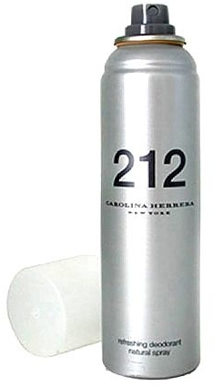 Carolina Herrera 212 For Women - Deodorant — Obrázky N1