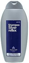Voňavky, Parfémy, kozmetika Šampón so striebornou farbou - Kallos Cosmetics Silver Reflex Shampoo