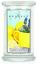 Voňavky, Parfémy, kozmetika Vonná sviečka v tube - Kringle Candle Lemon Lavender