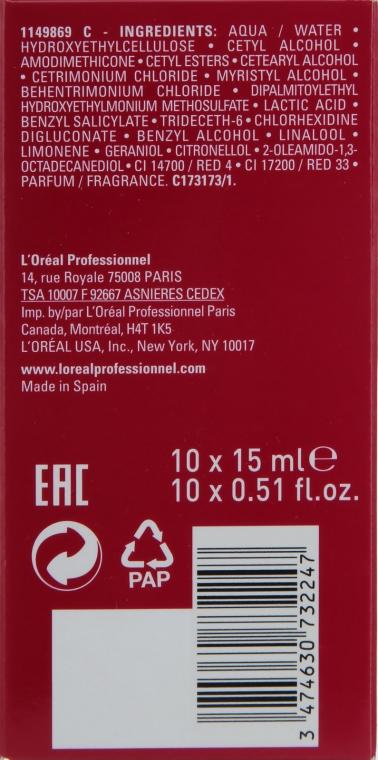 Revitalizačný koncentrát na vlasy - L'Oreal Professionnel Pro Fiber Rectify — Obrázky N3