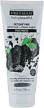 "Voňavky, Parfémy, kozmetika Bahenná maska na tvár ""Uhlie, čierny cukor"" - Freeman Feeling Beautiful Charcoal & Black Sugar Mud Mask"