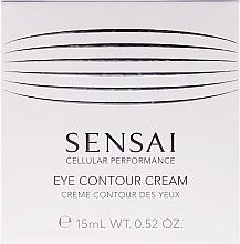 Voňavky, Parfémy, kozmetika Regeneračný krém proti stárnutí na kontúry očí - Kanebo Sensai Cellular Performance Eye Contour Cream