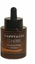 Voňavky, Parfémy, kozmetika Sérum na tvár - Happymore 12 Herbs Essential Drops