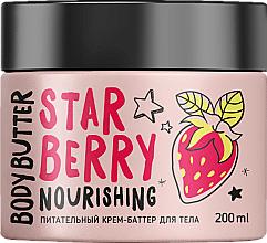 """Voňavky, Parfémy, kozmetika Výživné krémové maslo na telo """"Jahoda"""" - MonoLove Bio Star Berry Body Butter"""