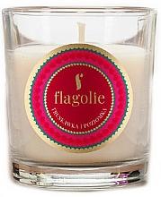 """Voňavky, Parfémy, kozmetika Vonná sviečka """"Jahoda a malina"""" - Flagolie Fragranced Candle Strawberry And Raspberry"""